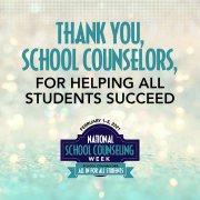 thank you school counselors